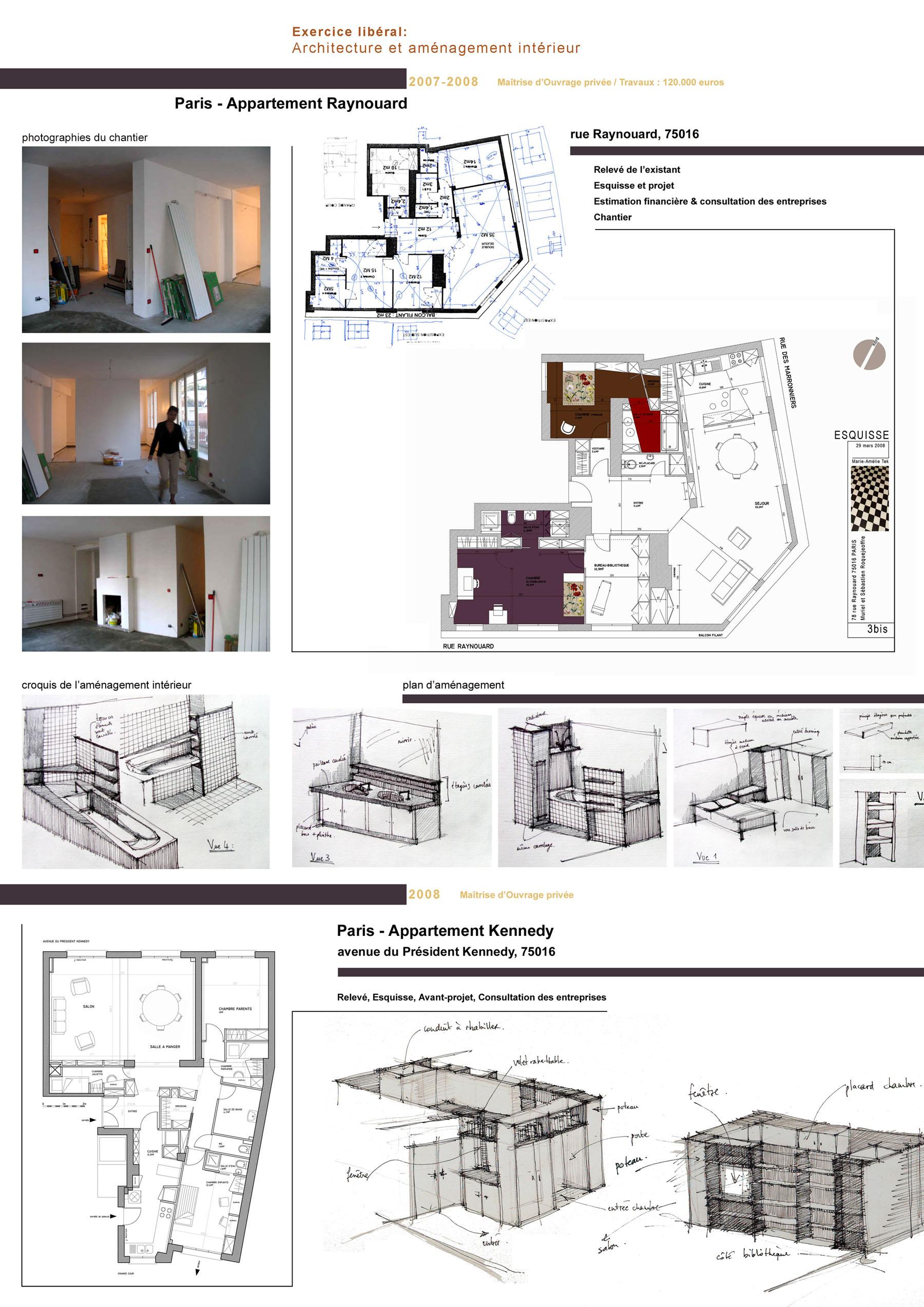 Projets Etudes Marie Am Lie Tek I Architecte